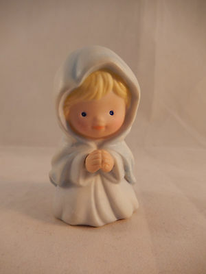 Avon Heavenly Blessings Nativity Mary  Miniature Figurine Replacement 1986