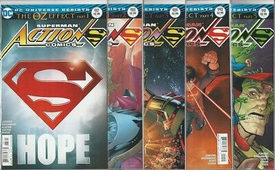 Action Comics #987 988 989 990 991 The Oz Effect Story Arc