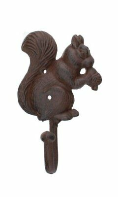 Iron Squirrel Coat Hook by Upper Deck Key Letter Holders Home Décor Garden