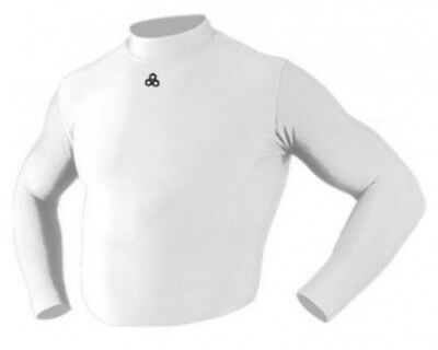 (Large, White) - Mcdavid Cold Wear Long Sleeve Mock Neck. Best Price