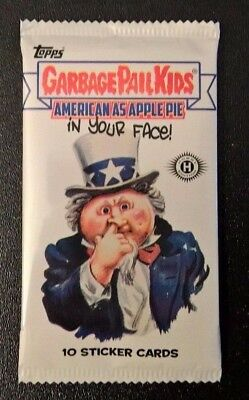 Garbage Pail Kids American as Apple Pie in Your Face Sealed Pack