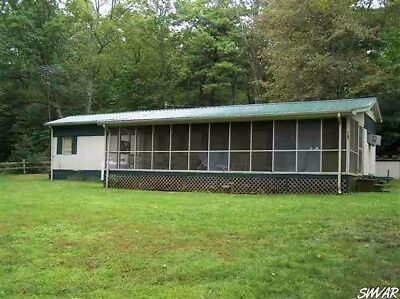 2 ACRES MOBILE HOME WITH LAND POND SPRING CREEK Trees Wood Dock Fishing Swimming