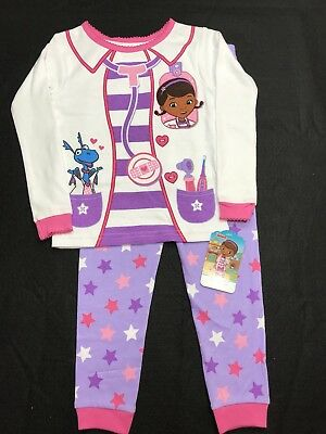 Doc McStuffins snug fit long sleeve girls PJs