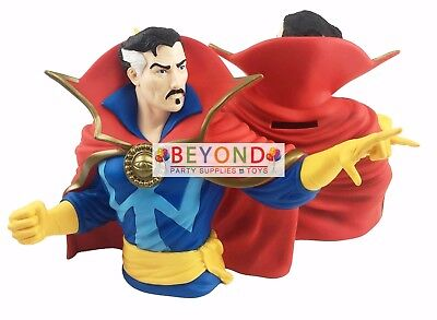 Dr. Strange Bust Bank Money Coin Bank DC Comics Piggy Bank 3D Toy Figure  Bank