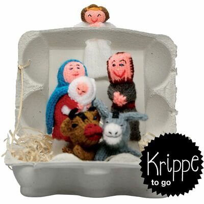 edition.end Krippe to go Christmas, Fingerpüppchen