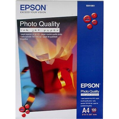 Epson Photo Quality Ink Jet Paper A4 100 Sheets