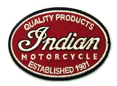 Indian Motorcycle (Established Oval Patch)