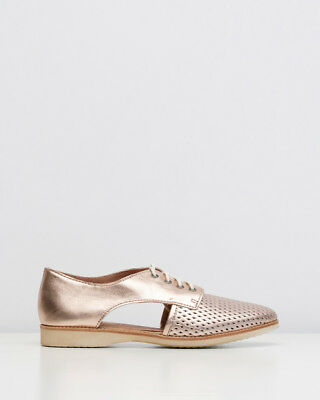 ROLLIE Sidecut Rose Gold Leather Shoes BN in Box