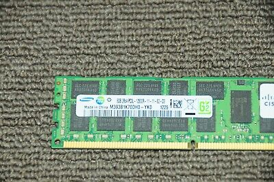 Cisco 8x8Gb UCS-MR-1X082RY-A DDR3 SDRAM ECC Reg DDR3 1600 Memory Module