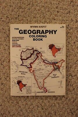 Geography Coloring Book by Wynn Kapit (2002, Paperback) • $22.03 ...