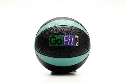 (4lb. - Green) - GoFit Medicine Ball with Training Manual. Brand New