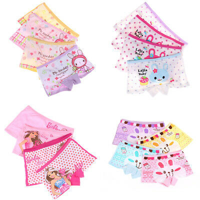 Kids Children Underwear Cartoon Baby Girls Short Panties Children Briefs Gift*