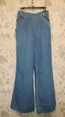 NWT Young Stuff Vintage Denim Wide Leg Size Sailor Large Extra Large