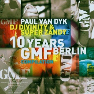 PAUL/DIVINITY VARIOUS VAN DYK - 10 Years Gmf Compilation - 2 CD - Best Of - Mint