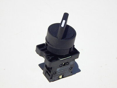 On/Off Two 2 Position Rotary Select Selector Switch