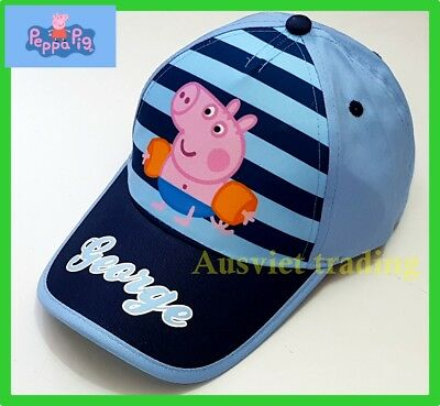 Peppa Pig George boys kids Cap Hat Brand new cartoon cotton