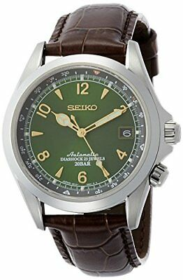 Seiko Men's SARB017 Mechanical Alpinist Analog  Automatic Self Wind Brown