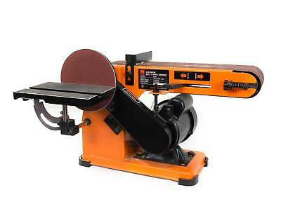 WEN 4 x 36-Inch Belt and 6-Inch Disc Sander with Steel Base, Woodworking Tool