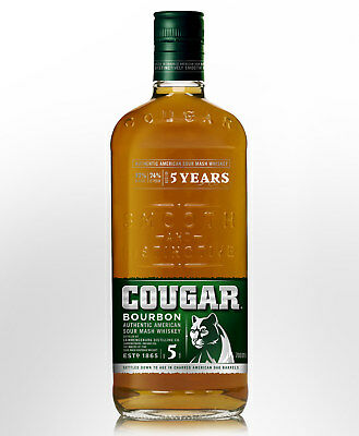 Cougar  Bourbon Whiskey (700ml)