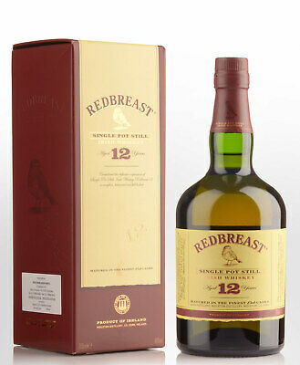 Redbreast 12 Year Old Single Pot Still Irish Whiskey (700ml)