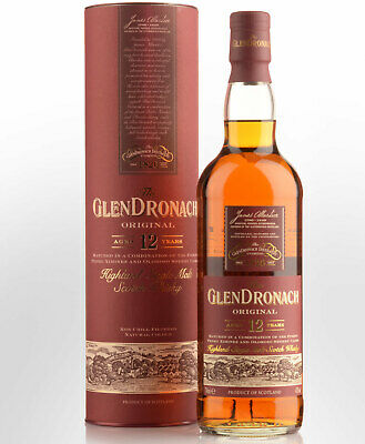 Glendronach Original 12 Year Old Single Malt Scotch Whisky (700ml)
