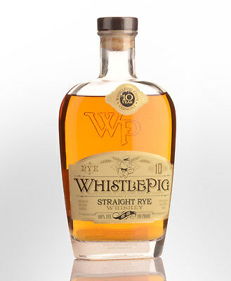 Whistle Pig 10 Year Old 100% Straight Rye Whiskey (700ml)