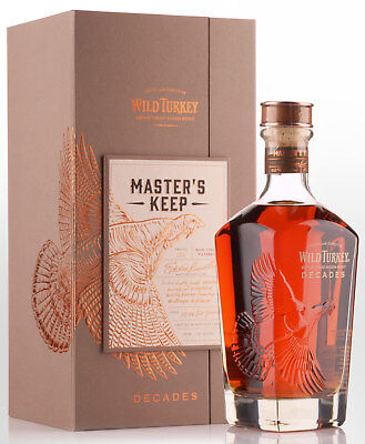 Wild Turkey Master's Keep Decades Bourbon Whiskey (700ml)