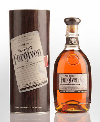 Wild Turkey Forgiven Special Edition (Bourbon / Rye Whiskey Blend)  Blended A...