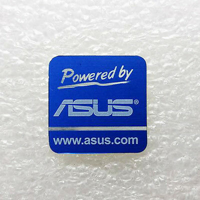 Powered by Asus Logo Sticker PC Case Badge 20 x 20mm New Free Shipping