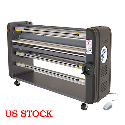 "US - 63"" Single Piece Metal Construction Warm Assist Laminator with ABS"