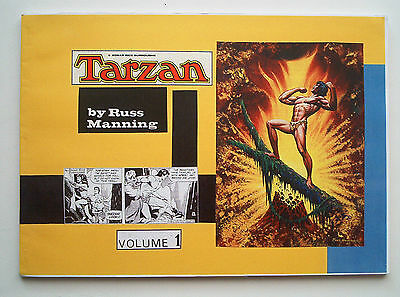 Tarzan by Russ Manning Vol. 1 The Daily Strips Limited collectors Edition