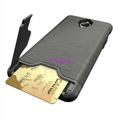Slim Hybrid Card Wallet Hard Back Phone Case Cover For  One Plus 3 /3t