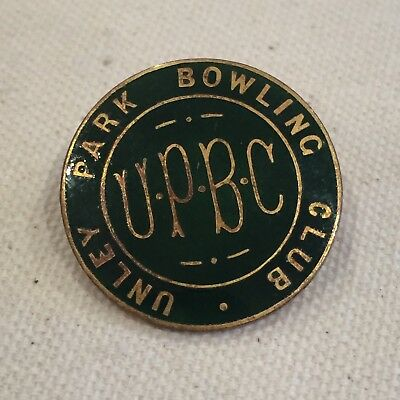 Unley Park Bowling Club Pin - Collectable Retro Vintage