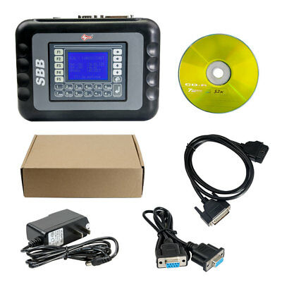 SBB Key Programmer Immobilizer V46.02 Support G Chip Read Pin Code Multilanguage