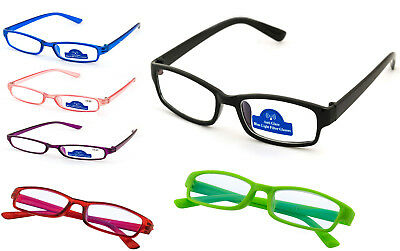 Reading Glasses 0.0 to 4.00 Unisex Mens Ladies Designer Fashion Slim Anti Glare