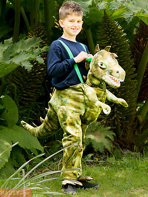 Kids Ride on Dinosaur Costume Step In Riding Fancy Dress Book Week Day Boys Girl