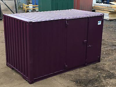 Ply Lined Shipping Container - 16ft - Side Door - Store - Workshop *inc VAT*