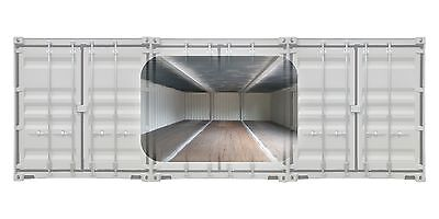 40x24 - Joined Shipping Container - Space - Office - Workshop - Storage *inc VAT