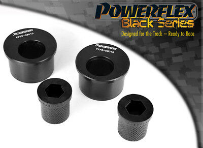 Powerflex BLACK Front Wishbone Rear Bush Caster Offset PFF5-5601GM3BLK, E46 M3