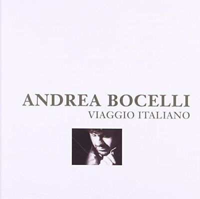 ANDREA BOCELLI - Viaggio Italiano - CD - Import - **BRAND NEW/STILL SEALED**