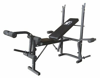 F4H  Exercise & Weights Bench ES-543 Adjustable Multi Home Gym Abs Legs