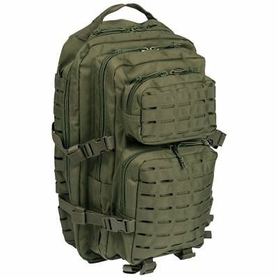 Mil-Tec Us Assault Molle Day Pack Large Backpack Military Rucksack Laser Cut Bag
