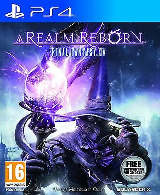 FINAL FANTASY XIV A REALM REBORN PS4 Sony PlayStation 4 Video Game UK New Sealed