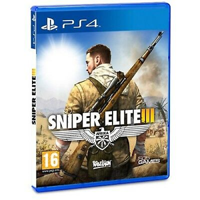 SNIPER ELITE III PS4 Shooting Video Game Sony PlayStation 4 UK New Rele Sealed