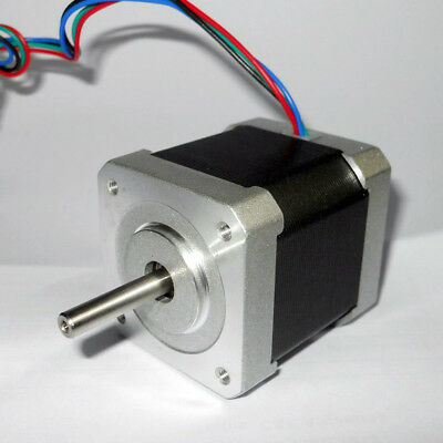 1.8 Degree 42mm NEMA17 2 Phase 4-wire Metal Stepper Motor For 3D Printer Or CNC