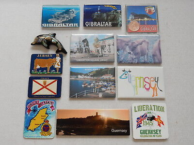 One Selected Fridge Magnet from Jersey Gibraltar Guernsey Isle of Man