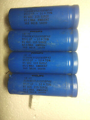 1PCS PHILIPS 75V 25000UF Screw fever ELECTROLYTIC CAPACITOR 50X144mm #E346 YX