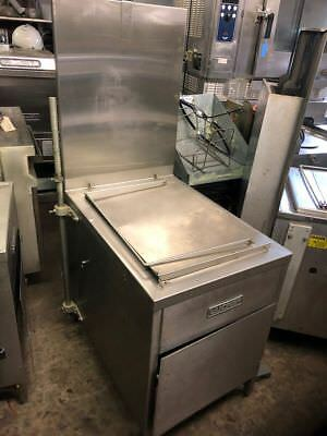 Lucks G1826 Natural Gas Donut Doughnut Fryer with Filter