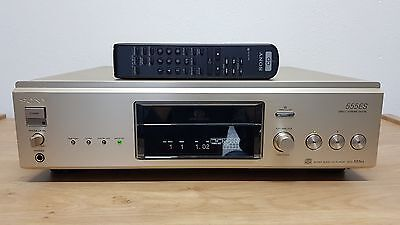 Sony SCD-555ES Gold Supreme High-End Super Audio CD-Player *NEW LASER*