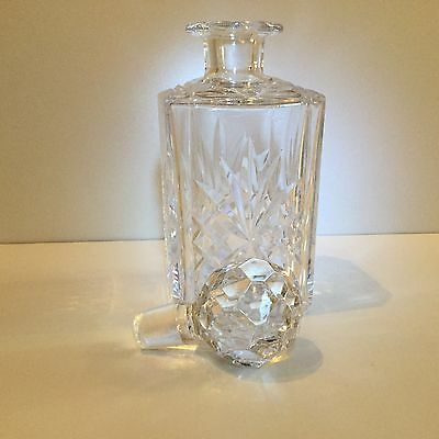 Crystal Glass Drinks  Decanter .